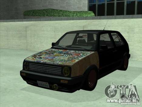 Volkswagen Golf 2 Rat Style pour GTA San Andreas