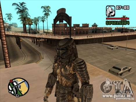 Raubtier auf die Ersatz-armejca für GTA San Andreas zweiten Screenshot