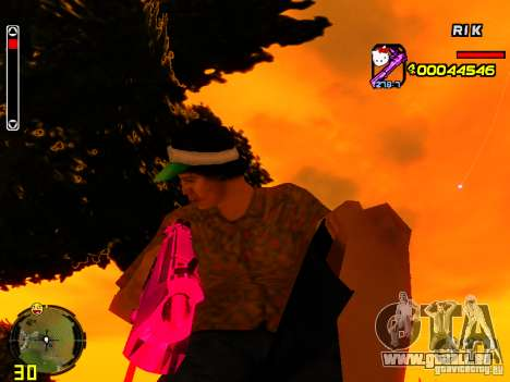Hello Kitty weapon für GTA San Andreas zweiten Screenshot
