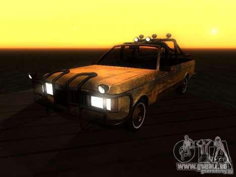 Regina War pour GTA San Andreas vue arrière