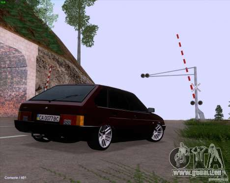 VAZ 2109 für GTA San Andreas Motor