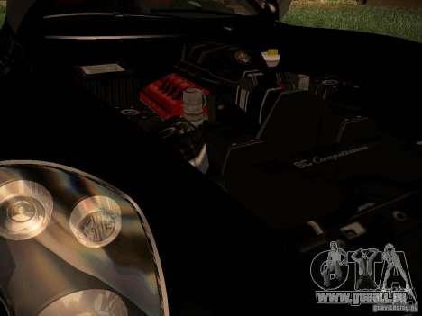 Alfa Romeo 8C Spider 2012 für GTA San Andreas rechten Ansicht
