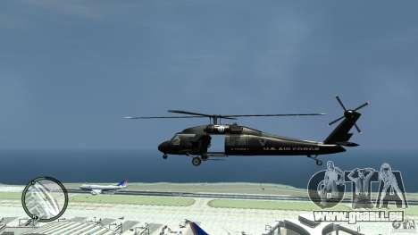 U.S. Air Force (annihilator) für GTA 4 linke Ansicht