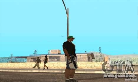 WEAPON BY SWORD pour GTA San Andreas quatrième écran