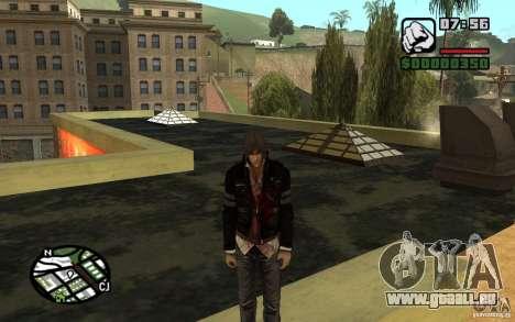 Alex Mercer v2.0 für GTA San Andreas zweiten Screenshot