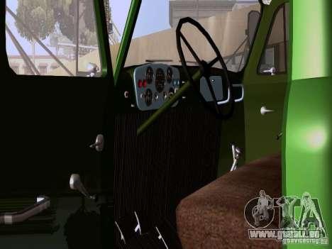 GAZ 53 pour GTA San Andreas vue de droite