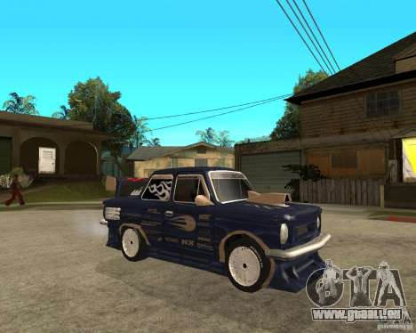 ZAZ-968 m STREET-Melodie für GTA San Andreas rechten Ansicht