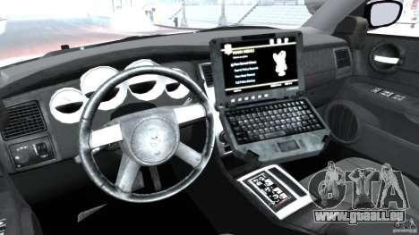 Dodge Charger Japanese Police [ELS] für GTA 4 Rückansicht