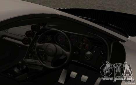 Toyota Supra RZ 1998 pour GTA San Andreas vue de droite