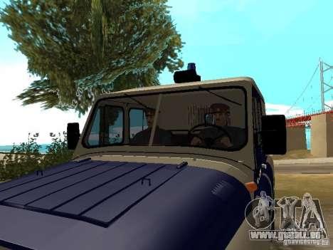 Police de l'URSS pour GTA San Andreas troisième écran