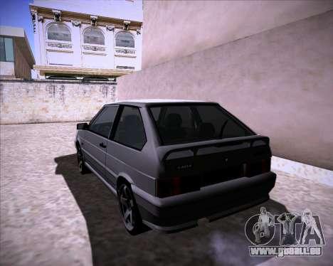 Lada Samara 2113 pour GTA San Andreas laissé vue