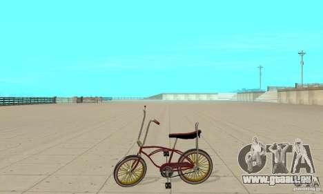 CUSTOM BIKES BIKE pour GTA San Andreas laissé vue