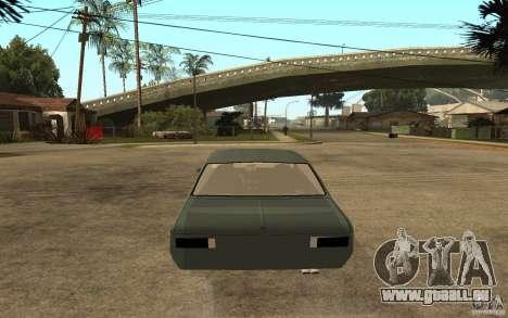Chevrolet Cheville für GTA San Andreas zurück linke Ansicht