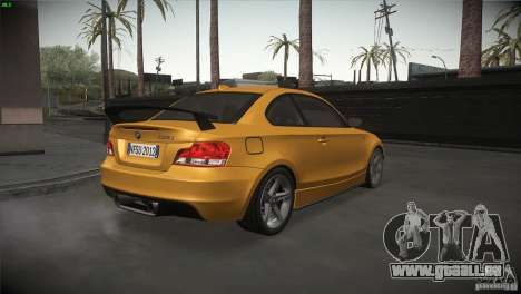 BMW 135i Coupe Road Edition pour GTA San Andreas vue de droite
