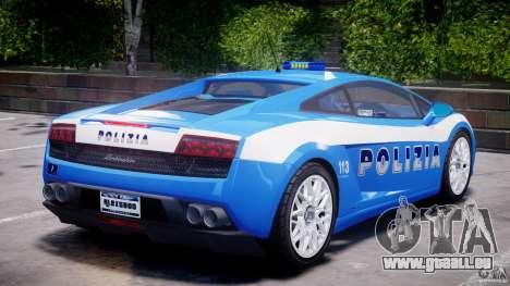 Lamborghini Gallardo LP560-4 Polizia pour GTA 4 Salon