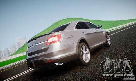 Ford Taurus SHO 2010 für GTA 4 hinten links Ansicht