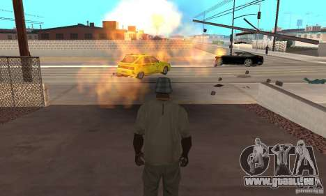Hot adrenaline effects v1.0 pour GTA San Andreas