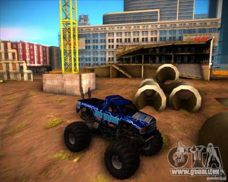 Monster Truck Blue Thunder für GTA San Andreas