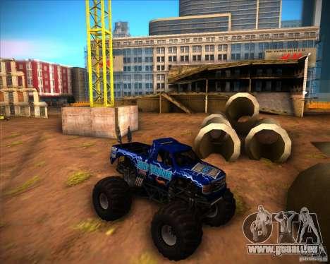 Monster Truck Blue Thunder pour GTA San Andreas