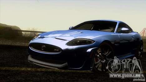 Jaguar XKR-S 2011 V1.0 pour GTA San Andreas vue de dessous
