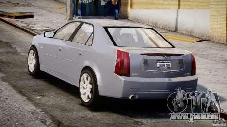 Cadillac CTS-V für GTA 4 Seitenansicht