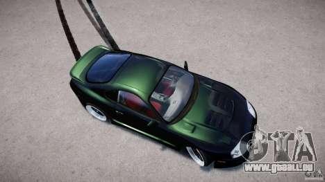 Toyota Supra JZA80 pour GTA 4 est une vue de l'intérieur