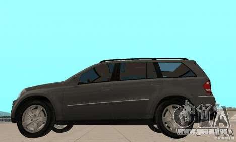 Mercedes-Benz GL500 pour GTA San Andreas sur la vue arrière gauche