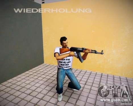 AK-47 für GTA Vice City zweiten Screenshot