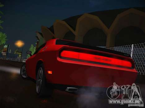 Dodge Challenger SRT8 v1.0 pour GTA San Andreas vue de côté