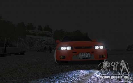 Nissan Skyline pour GTA 4 Vue arrière de la gauche