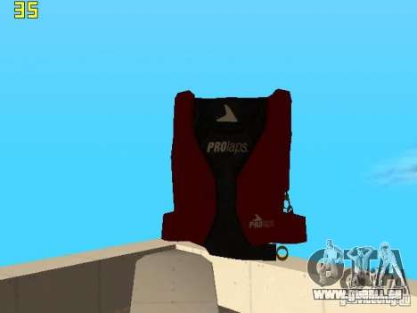 Parachute de TBOGT v2 pour GTA San Andreas quatrième écran