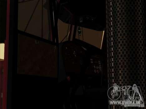 Peterbilt 359 Day Cab pour GTA San Andreas vue de côté