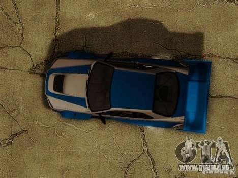 Nissan Skyline GTR34 DTM pour GTA San Andreas vue de côté