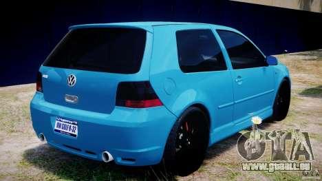 Volkswagen Golf IV R32 v2.0 pour GTA 4 Salon