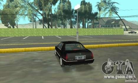 Cadillac Eldorado 1996 pour GTA San Andreas laissé vue