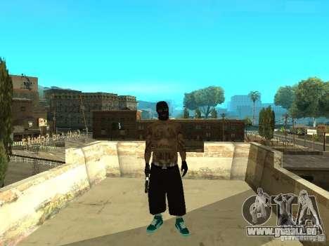 Varrios Los Aztecas Gang Skins für GTA San Andreas zweiten Screenshot