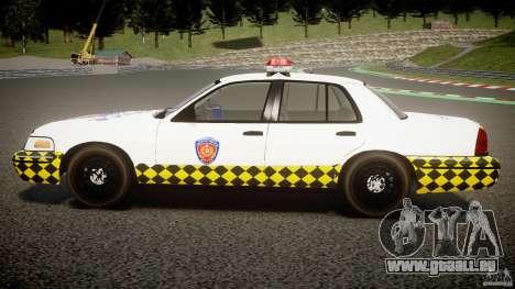 Ford Crown Victoria Karachi Traffic Police für GTA 4 linke Ansicht