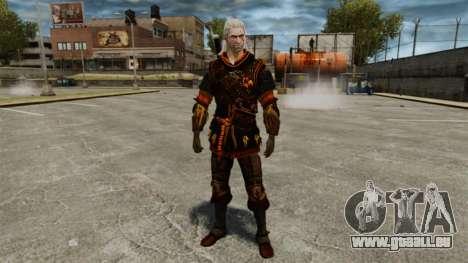 Geralt de Rivia v4 pour GTA 4