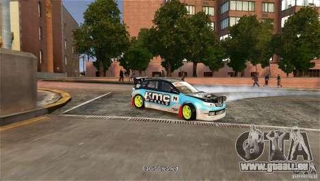 Subaru Impreza WRX STI Rallycross KMC Wheels pour GTA 4 est un droit