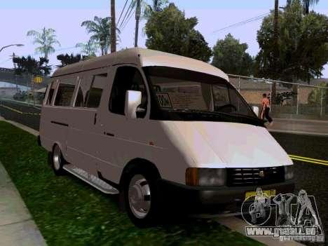Gazelle 32213 1994 für GTA San Andreas rechten Ansicht