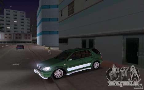 Mercedes-Benz ML55 Demec pour GTA Vice City sur la vue arrière gauche