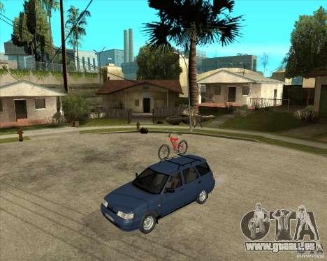 VAZ 2111 pour GTA San Andreas vue intérieure