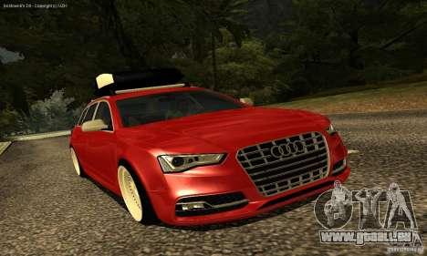 Audi A6 Avant Stanced für GTA San Andreas Seitenansicht