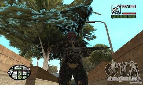 Crysis skin pour GTA San Andreas quatrième écran