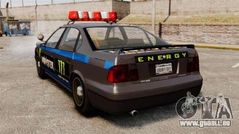Polizei-Monster-Energie für GTA 4 rechte Ansicht