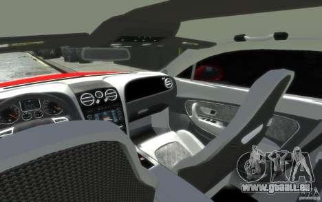 Bentley Continental SS MansorY für GTA 4 Unteransicht