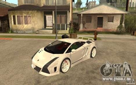 Lamborghini Gallardo MW für GTA San Andreas