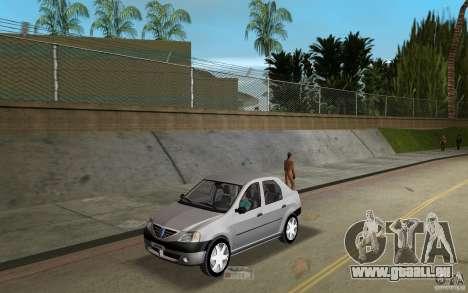 Dacia Logan 1.6 MPI pour GTA Vice City