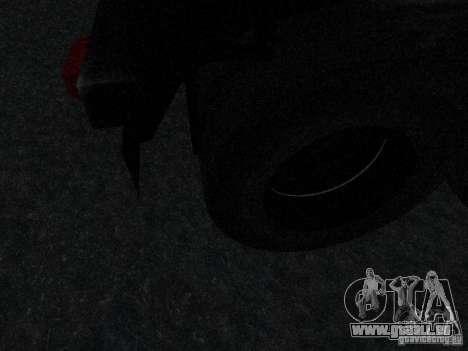 Anhänger gepanzerten Mack Fuel Truck Titan für GTA San Andreas Innenansicht