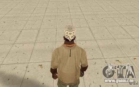 Bandana hellrider pour GTA San Andreas troisième écran